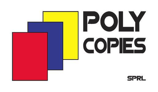 Logo du magasin d'impression Poly-copies
